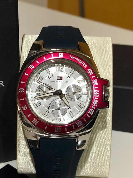 Hermoso Reloj Para Hombre Tommy Hilfiger Nuevo F90309