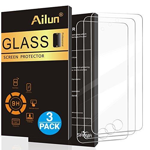 Protector De Pantalla Para iPod Touch 6, [3pack] De Ailun, V
