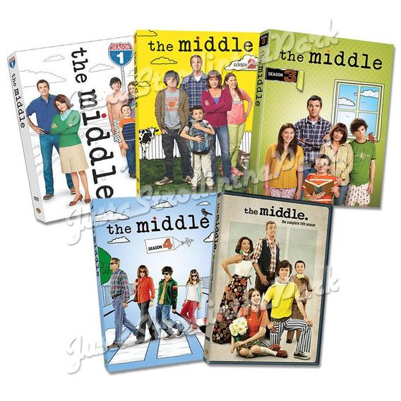 The Middle Temporadas 1, 2, 3, Y 4 Dvd