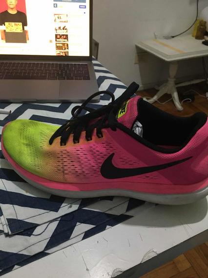Zapatillas Nike Running Importadas, Muy Poco Uso