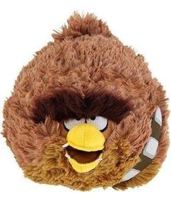 Angry Birds Star Wars Pelúcia Chewbacca 12cms * Sale
