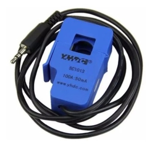 Imagem 1 de 2 de Sensor De Corrente Nao Invasivo Ac 100a Sct-013-100 Arduino