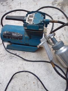 Compresor 1/2 Hp Para Pintar Con Pistola Craftsman
