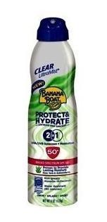 Protector E Hidratador Solar Banana Boat 50+ 2 En 1