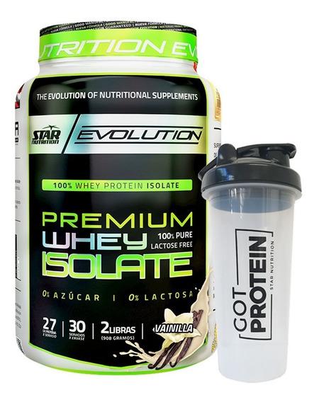 Proteina Isolate Star Nutrition 2 Lb + Vaso Adn