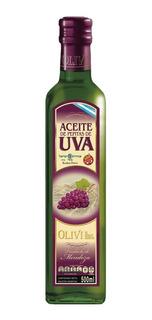 Aceite De Pepitas De Uva 500ml Vidrio Olivi Hnos