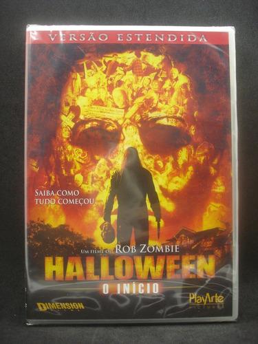 Dvd Halloween O Inicio Rob Zombie - Original Lacrado