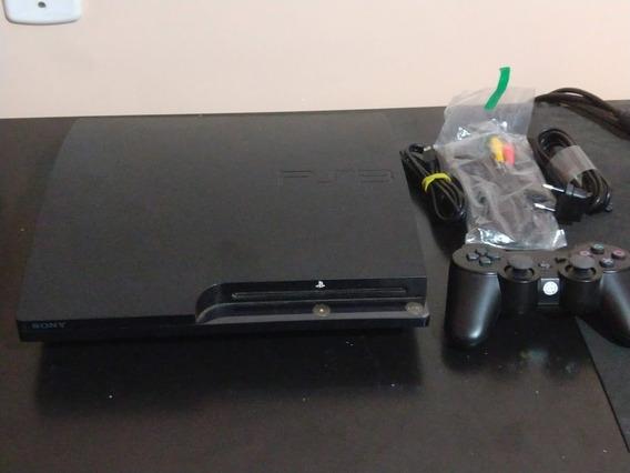 Ps3 Slim Playstation 3 1 Tera Desbloqueado 40 Jogos Multiman