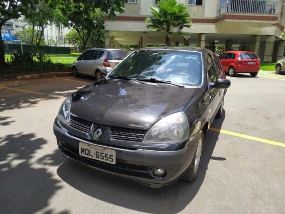 Clio Pri Sedan 1.6 16 V Flex 2006 - Conservado