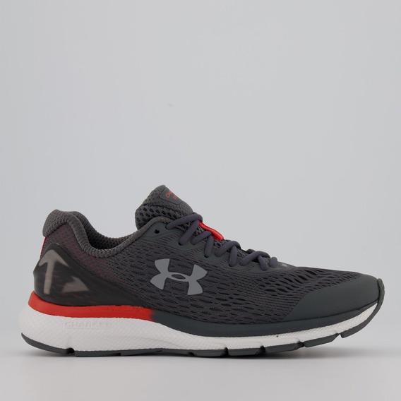 Tênis Under Armour Charged Impulse Cinza