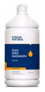 Óleo Hidratante De Massagem Neutro 1 Litro D