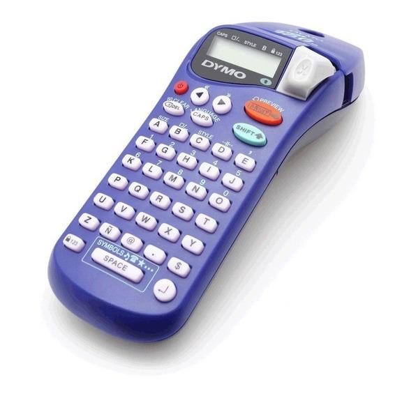 *rotulador Dymo Letratag Xr C/ 2 Fitas Papel + 2 Fitas Extra