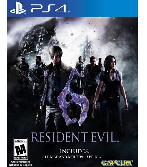 Resident Evil 6 Para Ps4