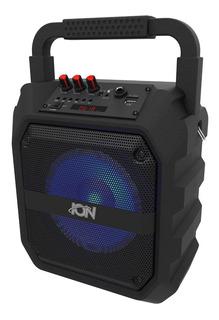 Parlante Portatil Ion Bluetooth Sd Usb Aux Luces Led + Gtia