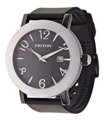 Relógio Unisex Urban Preto Triton Pronta Entrega Original