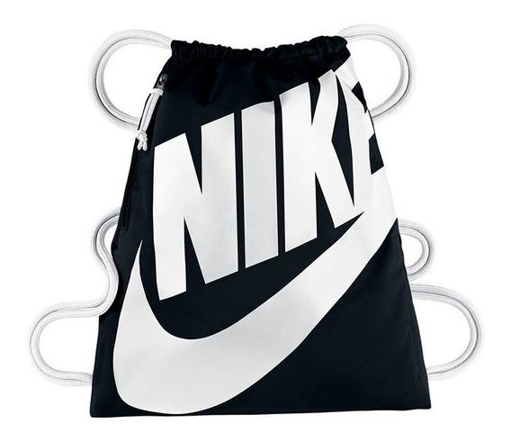 Tula Deportiva Nike Heritage - Negro