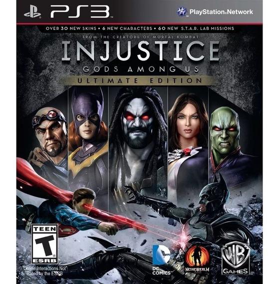 Injustice Gods Among Us Ps3 Psn Envio Imedaito