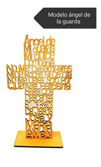 Cruz Mdf Paquete De 20 Piezas Recuerdo Bodegón