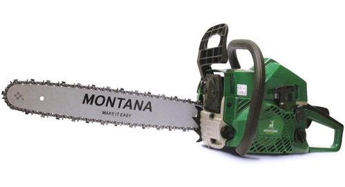 Imagen 1 de 3 de Motosierra Montana Espada De 20   Y 52cc - Arranque Facil