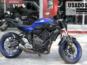 Yamaha Mt 07 Azul Usada 6000km 2017 Impecable Urquiza Motos