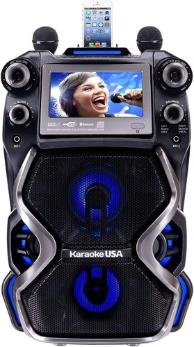 Karaoke Gf920 Portatil Bluetooth Profesional Cdg Mp3g