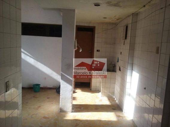 Sobrado Com 3 Dormitórios Para Alugar, 120 M² Por R$ 1.600/mês - Saúde - São Paulo/sp - So1098