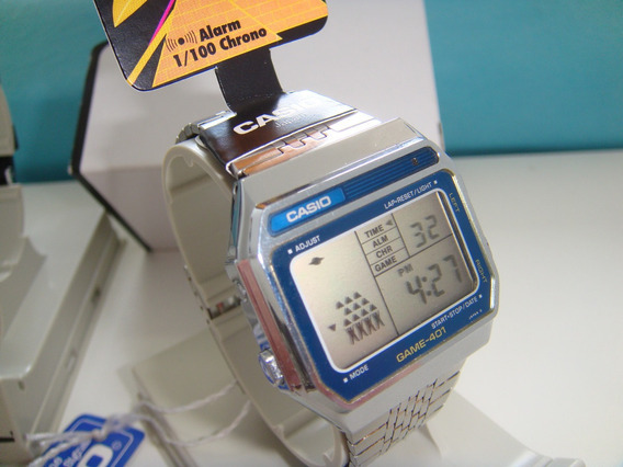 Ultra Raro Casio Game Gm-401 Azul 1984 10 20 30 40 301 401