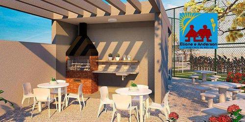 Apartamento Com 2 Dorms, Areia Branca, Santos - R$ 212 Mil, Cod: 864 - V864