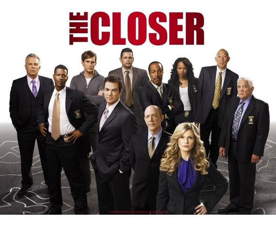 Seriado The Closer + Major Crimes Completas + Encarte