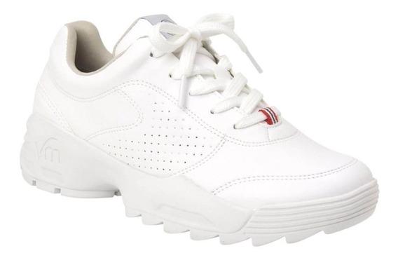 Tênis Chunky Sneaker Feminino Casual Via Marte Plataforma
