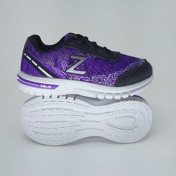 Tenis Zeuz Infantil Referência: T02 Do Número 20 Ao 35