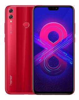 Huawei Honor 8x 4g Phablet Dual Sim Standby Rojo 4 + 64g