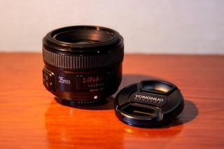 Lente Yongnuo 35mm, F/2 Para Nikon