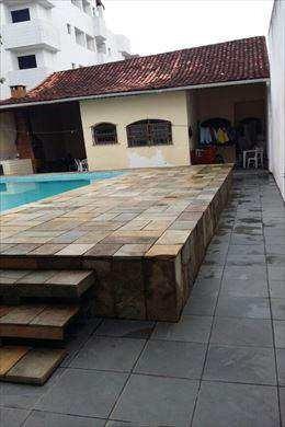 Casa Em Praia Grande Bairro Aviação - V9641