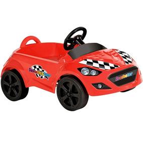 Carrinho Pedal Infantil Bandeirante Menino Buzina Mini Carro