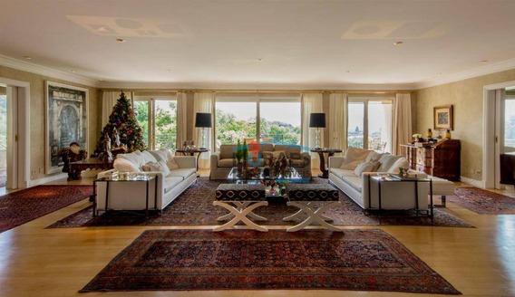 Atenção! Oportunidade Exclusiva! Apartamento À Venda, 648 M² Por R$ 16.900.000 - Cidade Jardim - São Paulo/sp - Ap14931