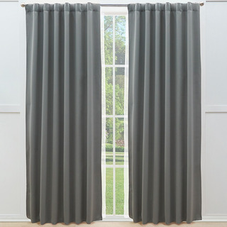 Juego Cortinas Blackout Catania Gris Vianney