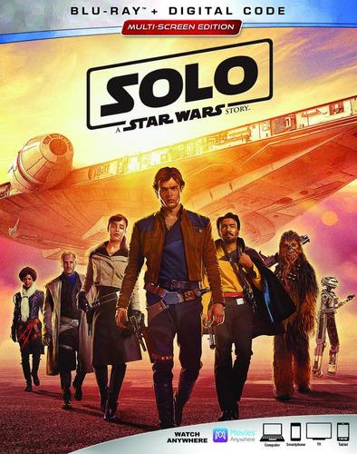 Solo A Star Wars Story En Blu-ray Original