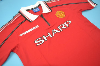 Camisa Manchester United 1998-2000 Premier League
