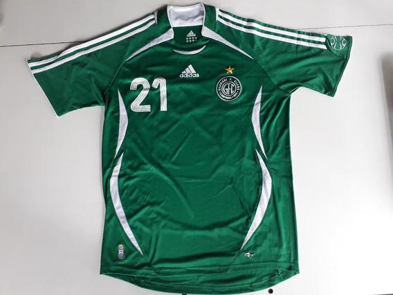 Camisa Camiseta Futebol Guarani Campinas Modelo 040
