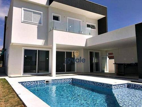 Casa Com 4 Suítes À Venda, Com Piscina, Condomínio Montserrat Urbanova - São José Dos Campos/sp - Ca0354