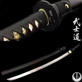 Espada Katana Samurai Afiada Original Corte Fio Aço 1060