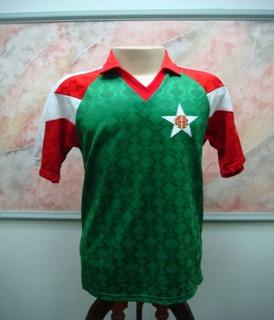 Camisa Futebol Portuguesa Rio Janeiro Enr Jogo Antiga 1693