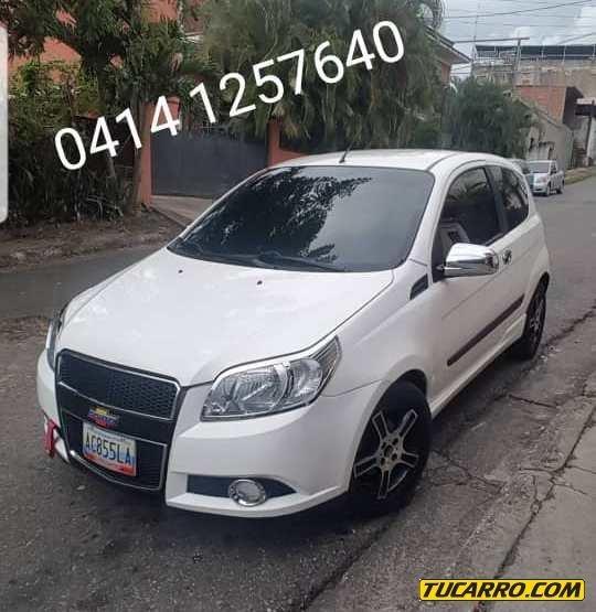 Chevrolet Aveo 2pts Lt Sinc
