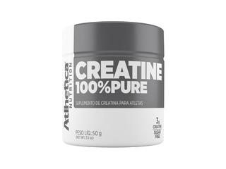 Creatine 100% Pure 50g Atlhetica - Menor Preço