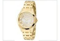 Relógio Technos Dourado Feminino Fashion Trend 2036mfpa/4d