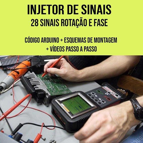 Injetor De Sinais Arduino Código + Videos Montagem + Brinde