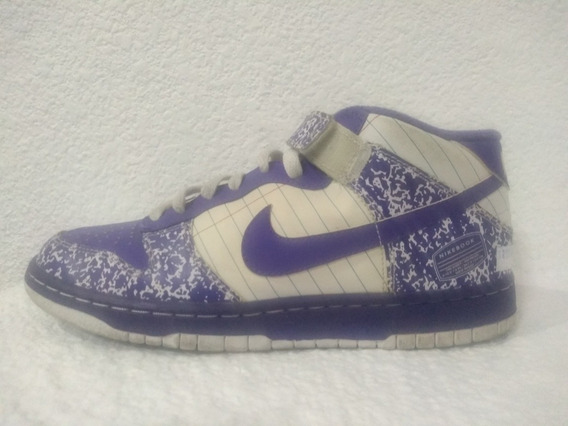 Nike Sb Dunk Mid Gs Notebook Talle Us 7y / 25 Cm