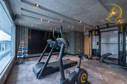 Apartamento Com 1 Dormitório À Venda, 65 M² Por R$ 370.000,00 - Canto Do Forte - Praia Grande/sp - Ap3819