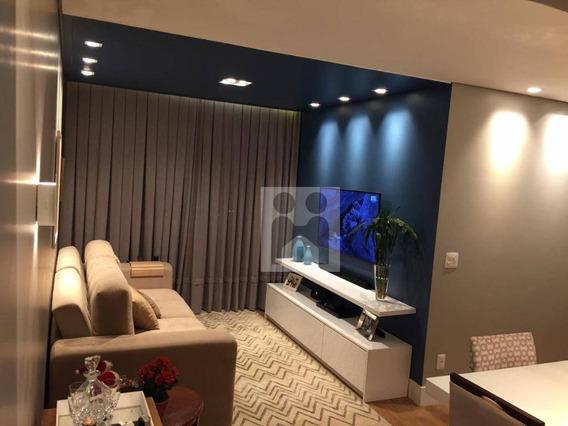 Apartamento Com 2 Dormitórios À Venda, 70 M² Por R$ 365.000 - Jardim Paulista - Ribeirão Preto/sp - Ap1035